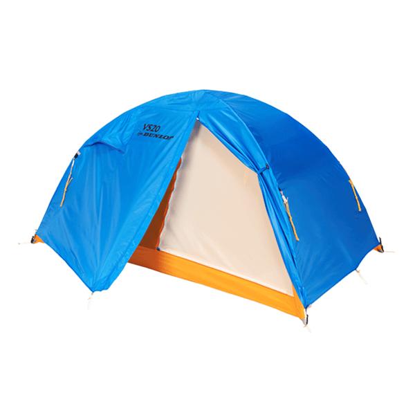 自立式+ダブルウォールのテント