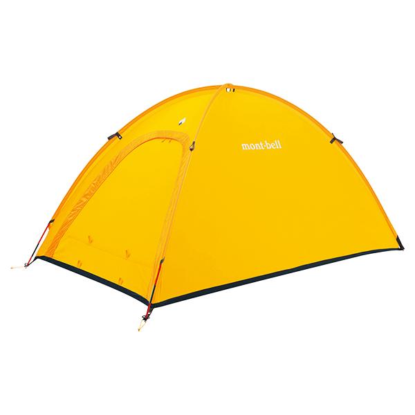 自立式+シングルウォールのテント
