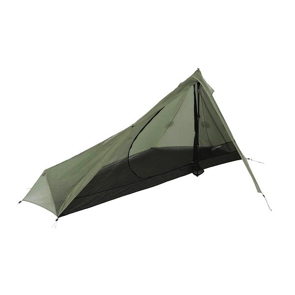 非自立式+シングルウォールのテント
