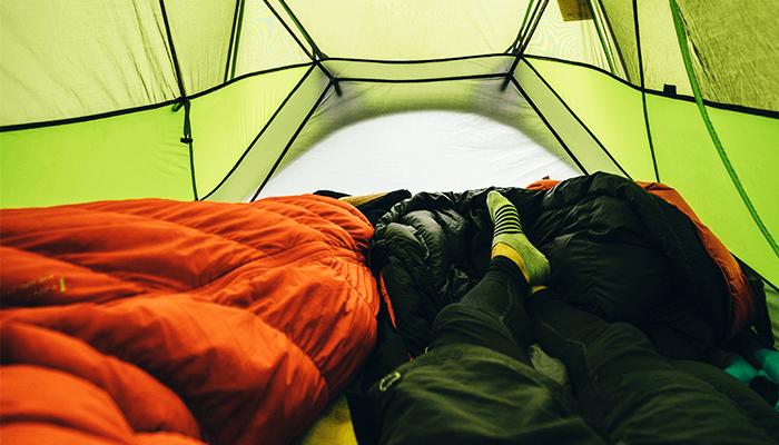 寝袋(シュラフ)を選ぶ時の5つのポイント