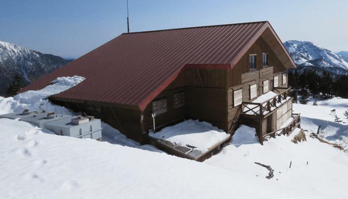 冬期小屋のイメージ