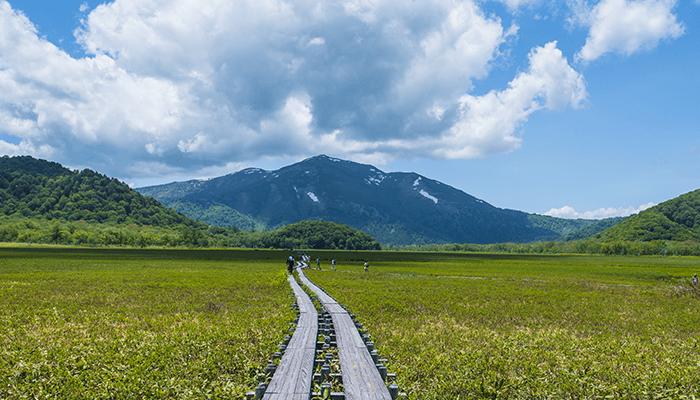山ノ鼻キャンプ場(至仏山)