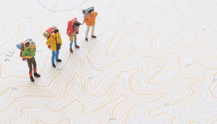 登山で地図が必要な理由