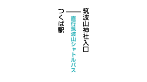 筑波山つつじヶ丘登山口のアクセス 公共交通機関