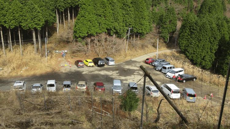 菩提峠駐車場